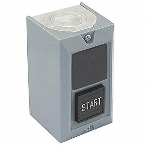 Push Button Control Station, 1NO Contact Form, Number of Operators: 1, Type of Operator: Push Button