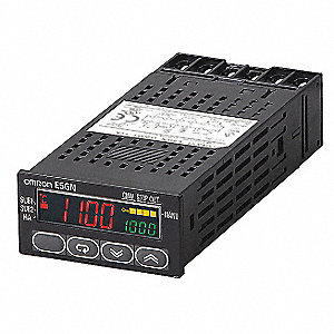 Temperature Controller, 1/32 DIN Size, 100 to 240VAC Input Voltage, Switch Function: Programmable