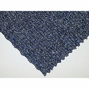 Berber Carpet Tile,Blue Gray,PK12