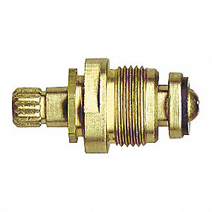 Low Lead Brass Hot Stem for Central Brass Faucets