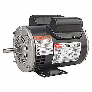1/2 HP General Purpose Motor,Capacitor-Start/Run,3450 Nameplate RPM,Voltage 115/208-230,Frame 48