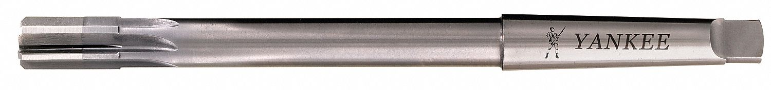 Fractional Inch Yankee 432-1.2188-1-7//32 Expansion Reamer High Speed Steel Bright Uncoated