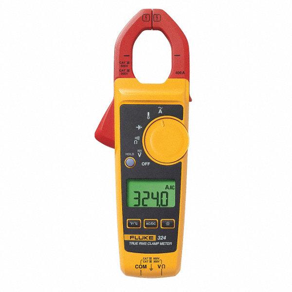 Fluke Digital Clamp Meter : Fluke clamp on digital meter ° to °f temp