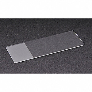 75x25mm White Glass Microscope Slide; PK72