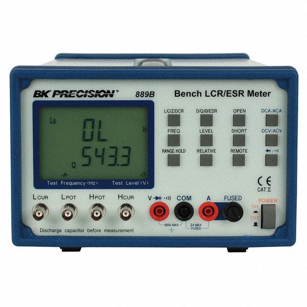 Using An Lcr Meter : B k precision bench lcr esr meter fp grainger