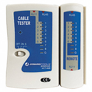 Modular Cable Tester Adapter Type: RJ-45