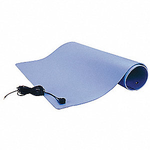 Dissipative Table Mat, Gray, 3 x 50 ft.