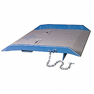"Container Ramp, 15,000 lb. Load Capacity, 60"" Overall Width, 48"" Overall Length"