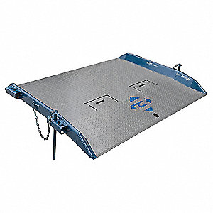 "48""L x 84""W Steel Dock Board; Load Capacity: 20,000 lb."