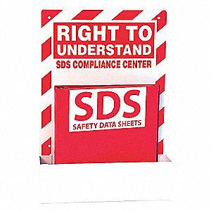 SDS SINGLE STATION 1.5 RING BINDER