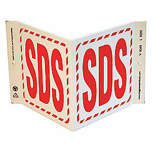 SIGN SDS V STYLE GHS