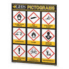 GHS SIMP. PICTO.CHART(24INX36IN)