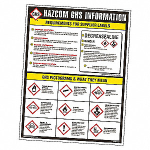 GHS INFORMATION DECAL (10/PKG)