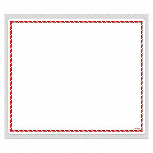GHS RED BORDER (6IN X 7-1/8IN)