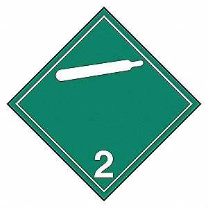 CLASS 2.2 PLACARD TB(12/PK)