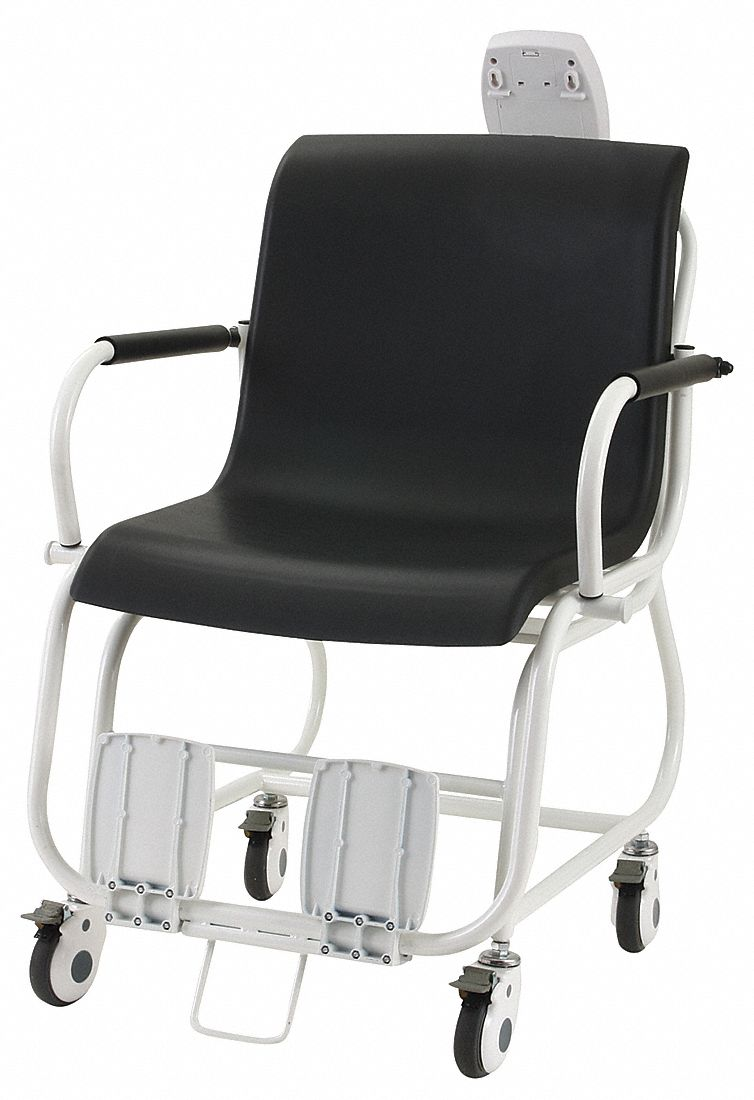 Digital Chair Scale, 250kg/550 lb Capacity, 23 1/2 in W x 15 in D