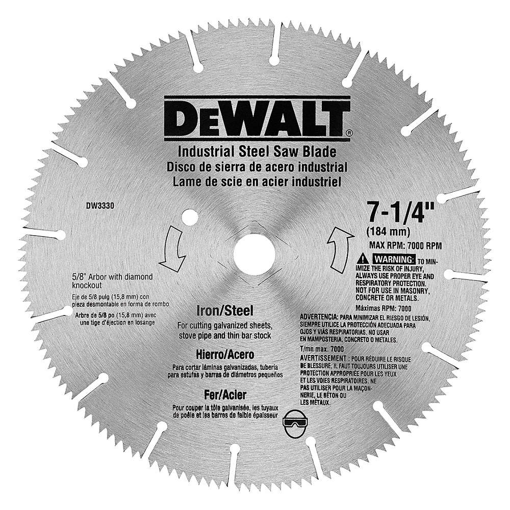 Dewalt 7 14 steel metal cutting circular saw blade number of zoom outreset put photo at full zoom then double click greentooth Gallery
