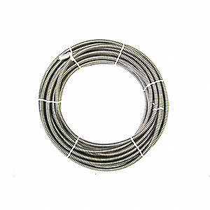 "Inner Core Drain Cleaning Cable 5/8"" x 75 ft."