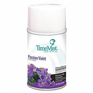 Passion Violet Metered Air Freshener Refill, 5.3 oz., TimeMist®, 12PK