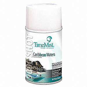 Caribbean Waters Metered Air Freshener Refill, 7.9 oz., 4PK