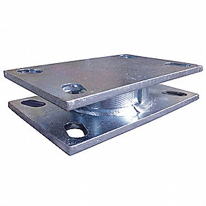 Turntable Swivel Section, 1500 lb., Steel