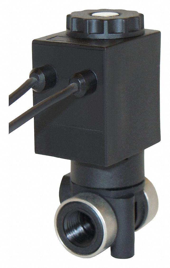 SPARTAN SCIENTIFIC 3827-E60-AA82B Valve,Glass Filled Nylon,2Way//2Position