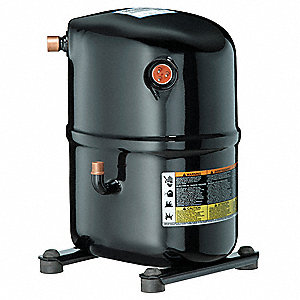 A/C Compressor,  1 Phase,  R-22,  24,500 BtuH,  208/230 Voltage,  9.5 A Amps