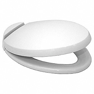 Toilet Seat,Closed Front,18-1/2 In