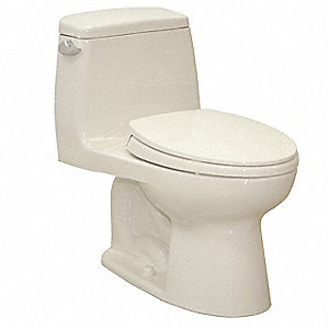 Eco Ultramax One Piece Tank Toilet, 1.6 Gallons per Flush, Sedona Beige