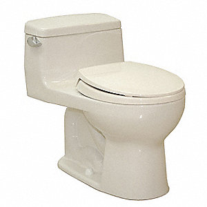 Eco Supreme® One Piece Tank Toilet, 1.28 Gallons per Flush, Sedona Beige