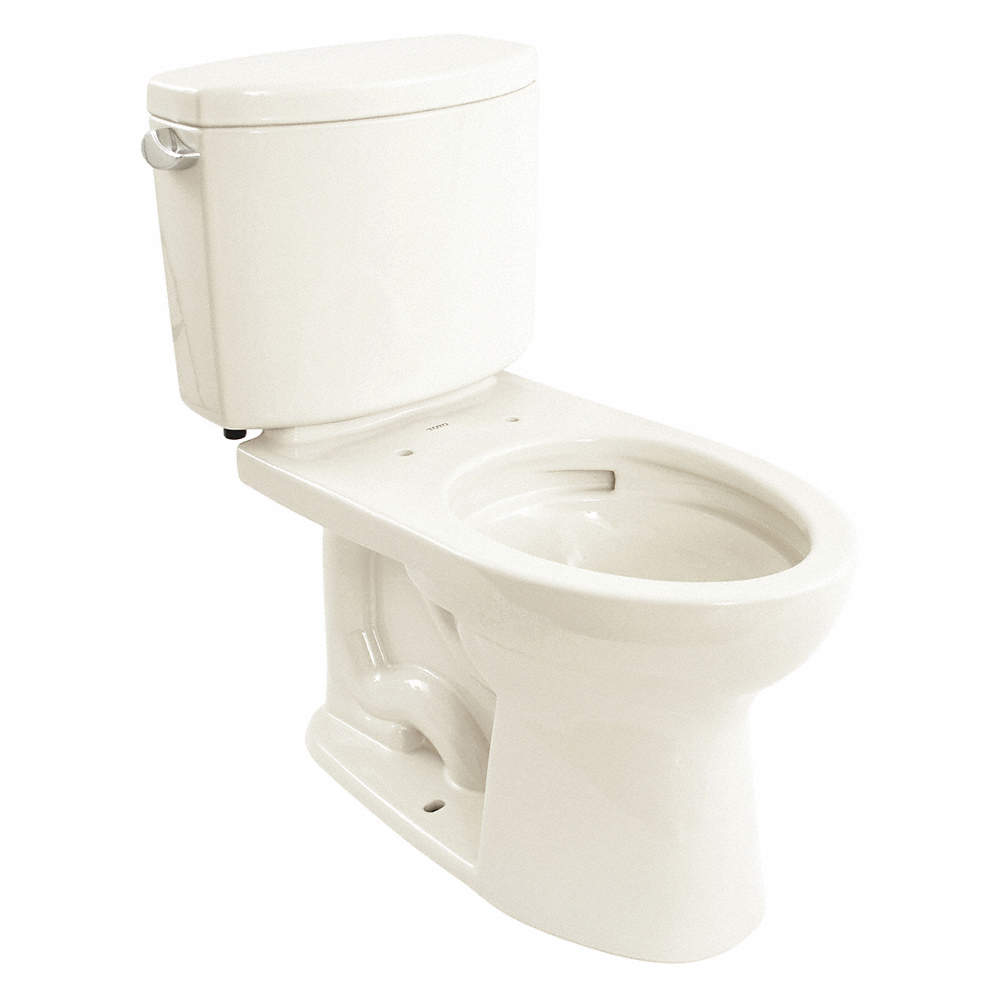 TOTO Drake II Two Piece Tank Toilet, 1.28 Gallons per Flush ...