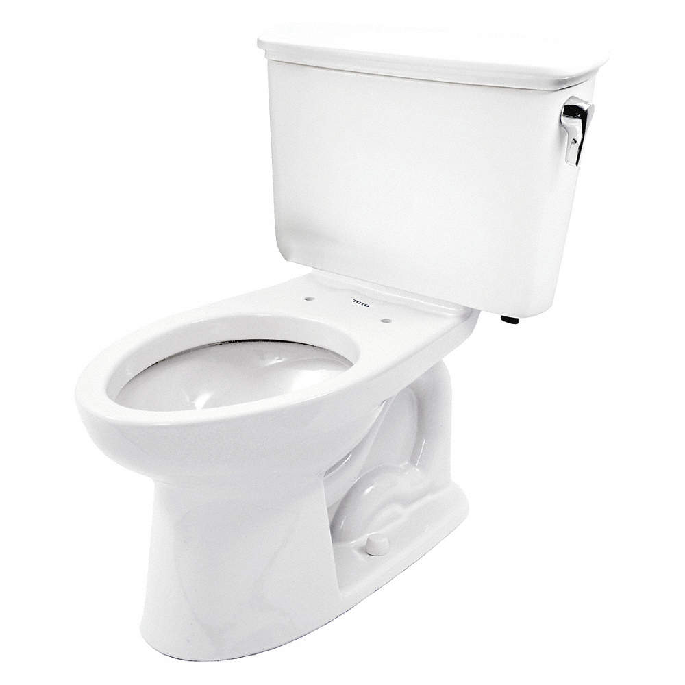 TOTO Eco Drake Transitional Two Piece Tank Toilet, 1.28 Gallons per ...