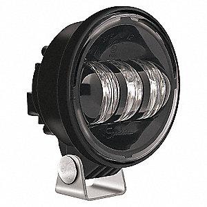 LAMP FOG LED 4.5IN BLACK 12V