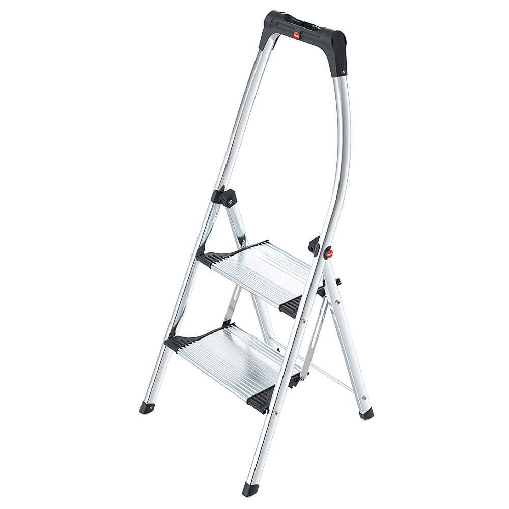 Pleasing Hailo Aluminum Folding Step 45 Overall Height 330 Lb Alphanode Cool Chair Designs And Ideas Alphanodeonline