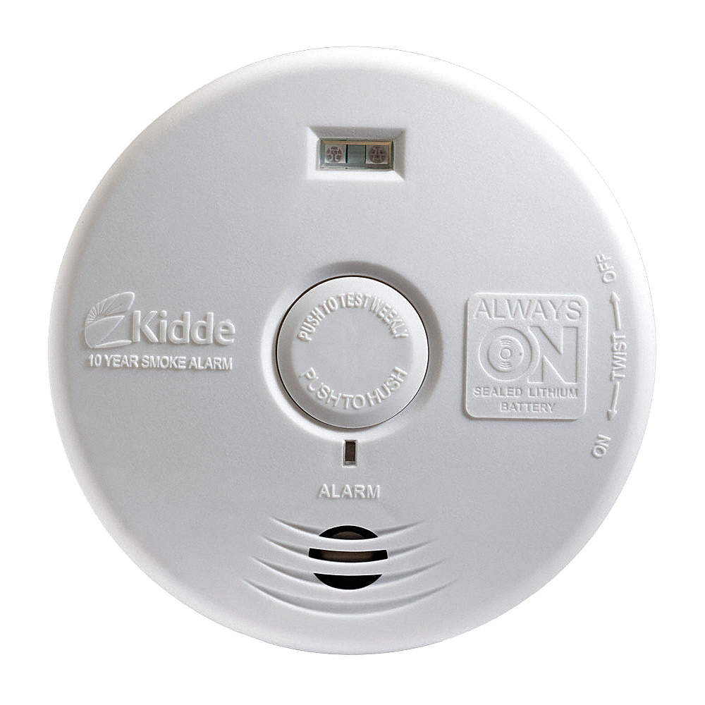 Kidde 5 Smoke Alarm With 85db 10 Ft Audible Alert Sealed