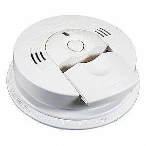 "5-5/8"" Smoke and Carbon Monoxide Alarm with 85dB @ 10 ft., Horn Audible Alert&#x3b; 2AA"