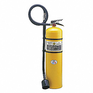 Fire Extinguisher,Sodium Chloride,D,10ft