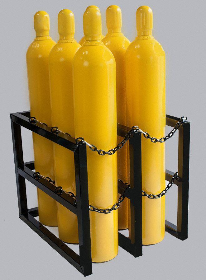 Jt Racking Systems Gas Cylinder Rack 30inwx36indx30inh 20jl15 3d2w Grainger