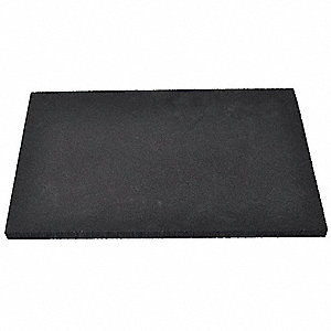 "Crosslink,  Foam Sheet,  Polyethylene,  1/4"",  12"",  24"",  Black"