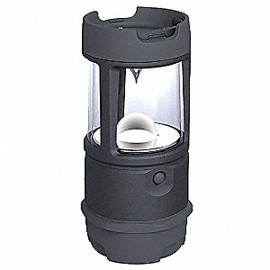 LanternLED, Plastic, Maximum Lumens Output: 400, Black, 4.38""