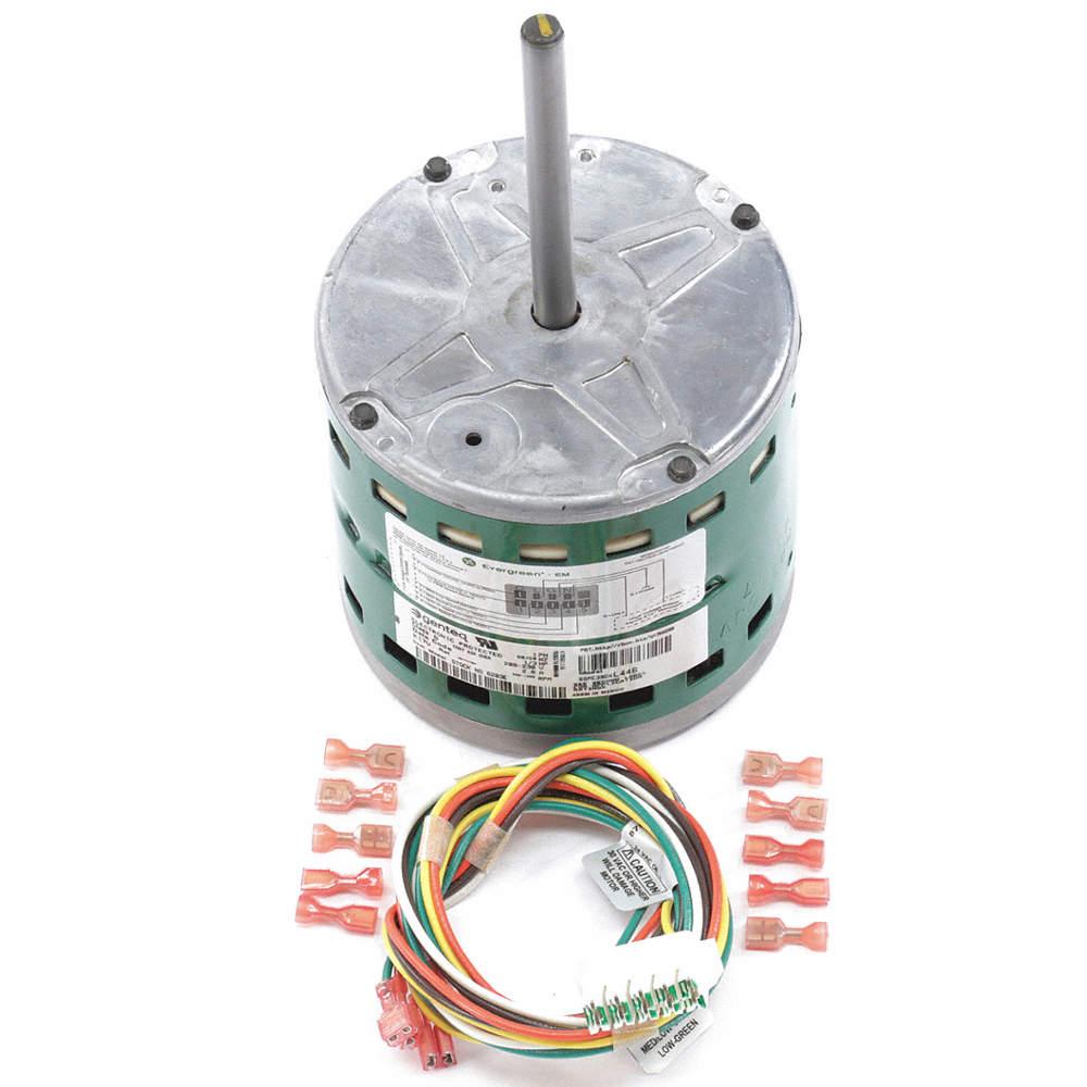 1/3 HP ECM Direct Drive Blower Motor,ECM,1200 Nameplate RPM,208-230  Voltage,Frame 48