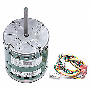 3/4 HP ECM Direct Drive Blower Motor,ECM,1200 Nameplate RPM,208-230  Voltage,Frame 48