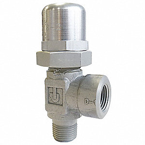 "Stainless Steel (Soft Seat) Pressure Control Valve with 1/2"" NPT Port Size"