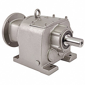 Standard Cast Iron C-Face Helical Gear Drive, Single Output, 105 lb. Overhung Load