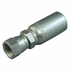 Hydraulic Hose Fitting,Crimpable,PK10