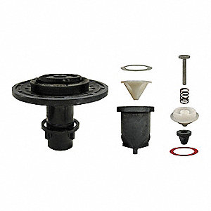 Master Urinal Kit, Rubber and Plastic, For Use With Flush Valves