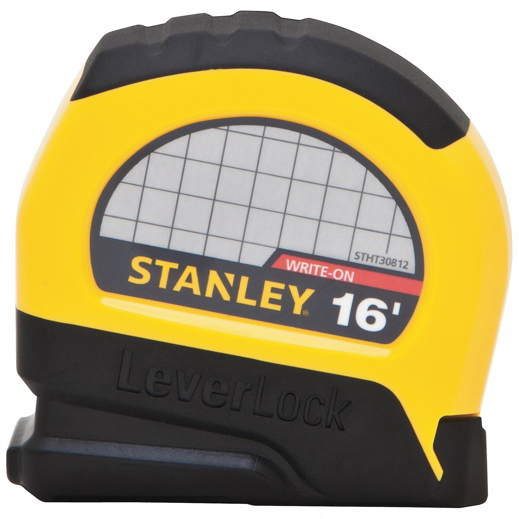 Stanley 16 Ft Steel Sae Tape Measure Black Yellow 20jy21 Basic 5m Stht30812 Grainger