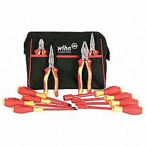 Insulated Tool Set, Number of Pieces: 12