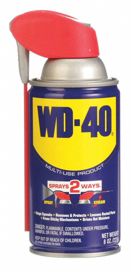 General Purpose Lubricant,  -60° to 300°F,  No Additives,  Net Fill 8 oz,  Aerosol Can