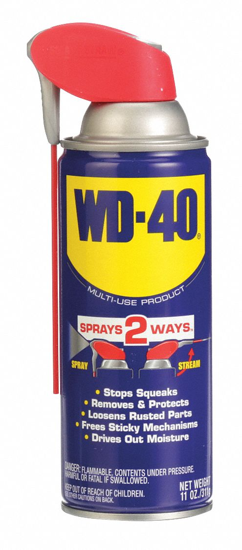 General Purpose Lubricant,  -60° to 300°F,  No Additives,  Net Fill 11 oz,  Aerosol Can